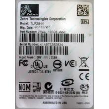 Термопринтер Zebra TLP 2844 (выломан USB разъём в Петрозаводске, COM и LPT на месте; без БП!) - Петрозаводск