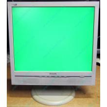 """Б/У монитор 17"""" Philips 170B с колонками и USB-хабом в Петрозаводске, белый (Петрозаводск)"""
